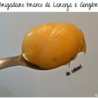 Brigadeiro Gourmet: laranja com gengibre