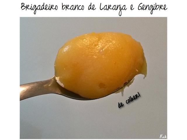 Brigadeiro Gourmet: laranja com gengibre / NND