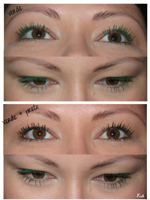 Colorful Mascara: what to do? / NND