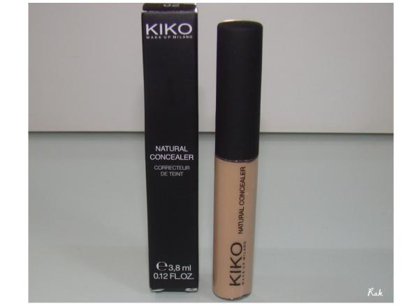 Kiko Natural Concealer 02