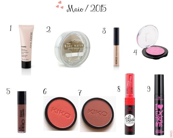 Favoritos Maio 2015 | NND