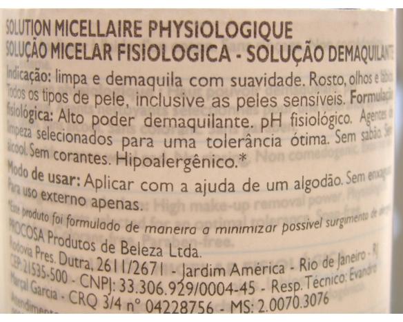 Água Micelar La roche | NND